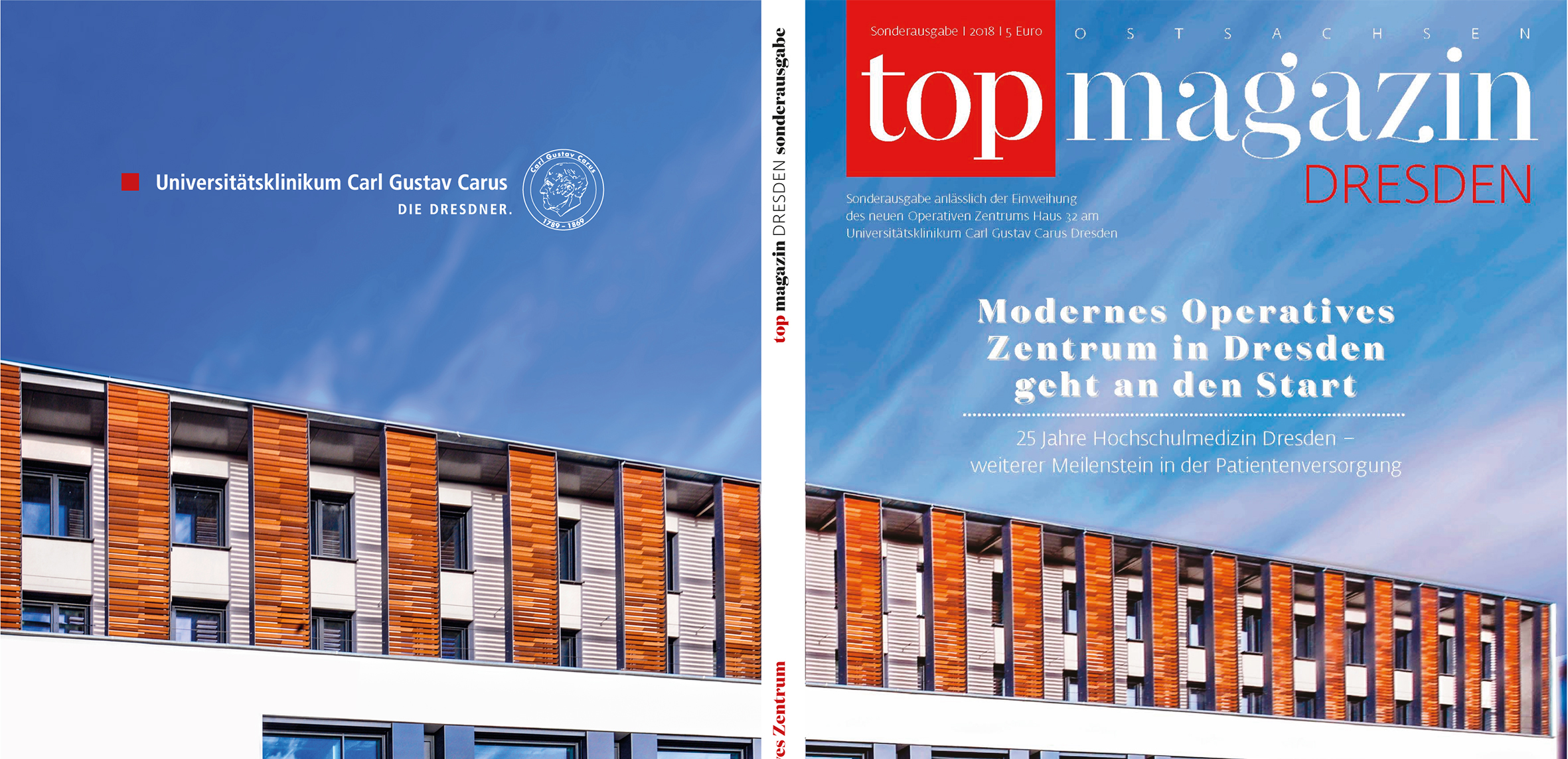 Neues Operatives Zentrum am UKD - Top Magazin Dresden